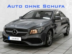Mercedes-Benz CLA 200 CDI Euro6 Coupe AMG-Sportpaket Navigationssystem, Klimaautomatik, PDC-Einparksystem, AMG-Sportpaket, 1. Hand